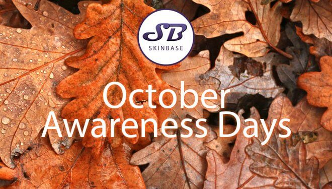 Upcoming October Awareness Days